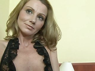 Milfs getting black cock - Hot milf in lacy lingerie gets thrusted by black cock