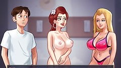 Saga de verano - sexo con Tina y Becca, madre e hija