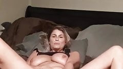 Milf loves her big toy