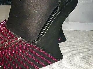 Sexy heels nylons mature - Sexy heels lady lee.