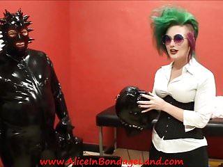 Rubber latex sec fetish women vacbed bondage - Behind scenes rubber interview latex fetish gummi gear