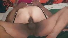 Carmen Santiago - Fabion's pulsating cock cums in my ass
