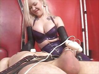 Breast milking machine pneumatic Latex mistress edging milking machine