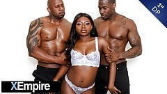 XEmpire - Gorgeous Ebony Noemie Bilas' 1st DP