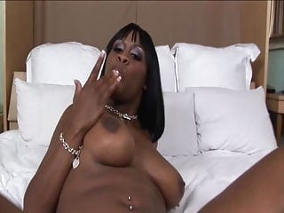 Whore lips fuck Horny chocolate whore spreads legs and wraps lips around a massive cock