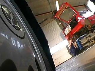 Wife garage sex Garage sex - dorthe damsgaard