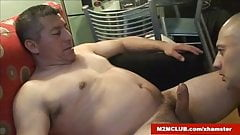 Str8 construction worker serviced