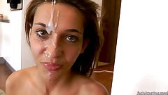 Beauty gets huge facial after casting