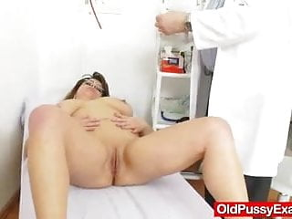 The size of an adult cougar - Huge natural melon size tits at obgyn doc