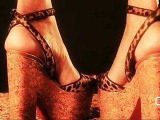 Sexy platform heel fetish Darla de leon- my louboutin platform high heels