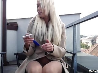 Free xl film busty thumb Magma film busty blonde german babe rubs her beautiful pussy