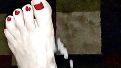 Cum Cum Cum Wifes Sexy Big Red Toe
