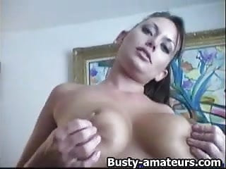 Leslies tits - Leslie fingerfucks her pussy on the couch