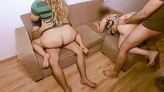Our Foursome Orgy Compilation And Wife Swapping #1