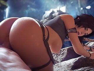 Lara croft nude parody Lara croft compilation, vol 1 sfm