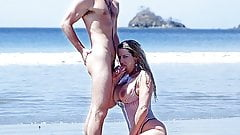 Busty Sally Enjoys Anal Sex in the Beach