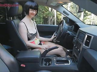 Pain on left side of vaginal area Mature lady masturbates in car at the side of the highway