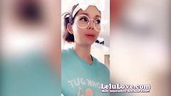Lelu Love- VLOG: Hot Sweaty BTS Sucking Fucking