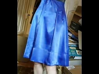 Jerk off mother Mother, involuntary upskirt showing off dress.