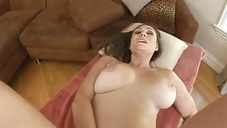 Rucca Page swallows cum