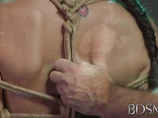Hd softcore milf xxx Bdsm xxx bondage master brings his cute asian sub girl