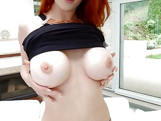 Gonzo hairy Anal action with redhead isabella lui gonzo style by ass