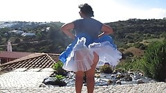 Windy upskirts Teil 37