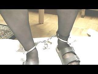 Bondage toys cuffs Stiefel und fussschellen, ankle cuffs
