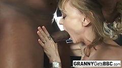Porn legend Nina Hartley gets interracial in her sexy