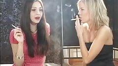 Girls Smoking Fetish