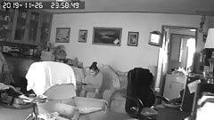 Spy cam on girlfriend