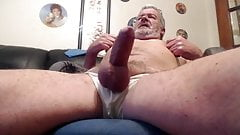 Handsome daddy bear big cock and balls