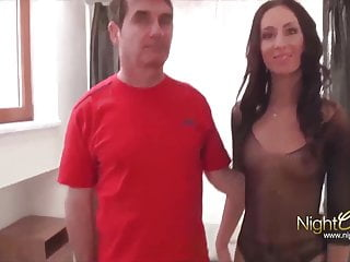 Men eating pussy creampie video Cuckold husband who always finds men to fuck