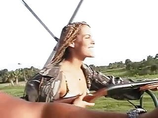 Outdoor adventure trips for adults - Babe head 134 sexy girl with dreads, hunting trip