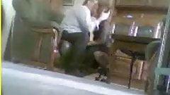 Hidden Cam Caught Mom And Dad Having Fun In Livingroom