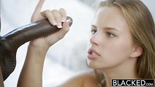 BLACKED - 18yo Old Jillian Janson has Anal Sex with BBC