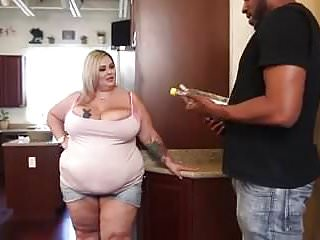 Tiger woods in the nude Bbw - plump fat hen with big black cock tiger