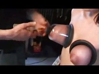 Bound tits sucked - Lactation, verry hard bdsm version, bound tits. byspyro1958