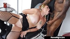 Black Knight Rome Major Wrecks Blonde Pinky 702 With His BBC