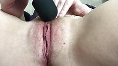 Vibrator Orgasm With Contractions
