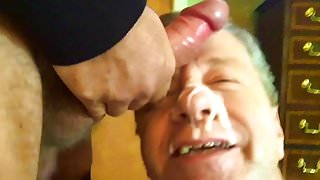 Neal Blosmen Is Fed a Huge Load from an Alpha Male