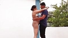 Indian Wife having Sex on the Roof with boyfriend