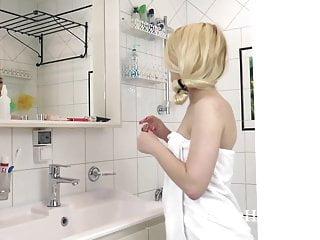 Bath hot naked sauna shower tub Elizabeth johns masturbates in her bath tub