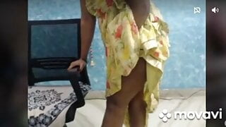 Tamil aunty on tango 3