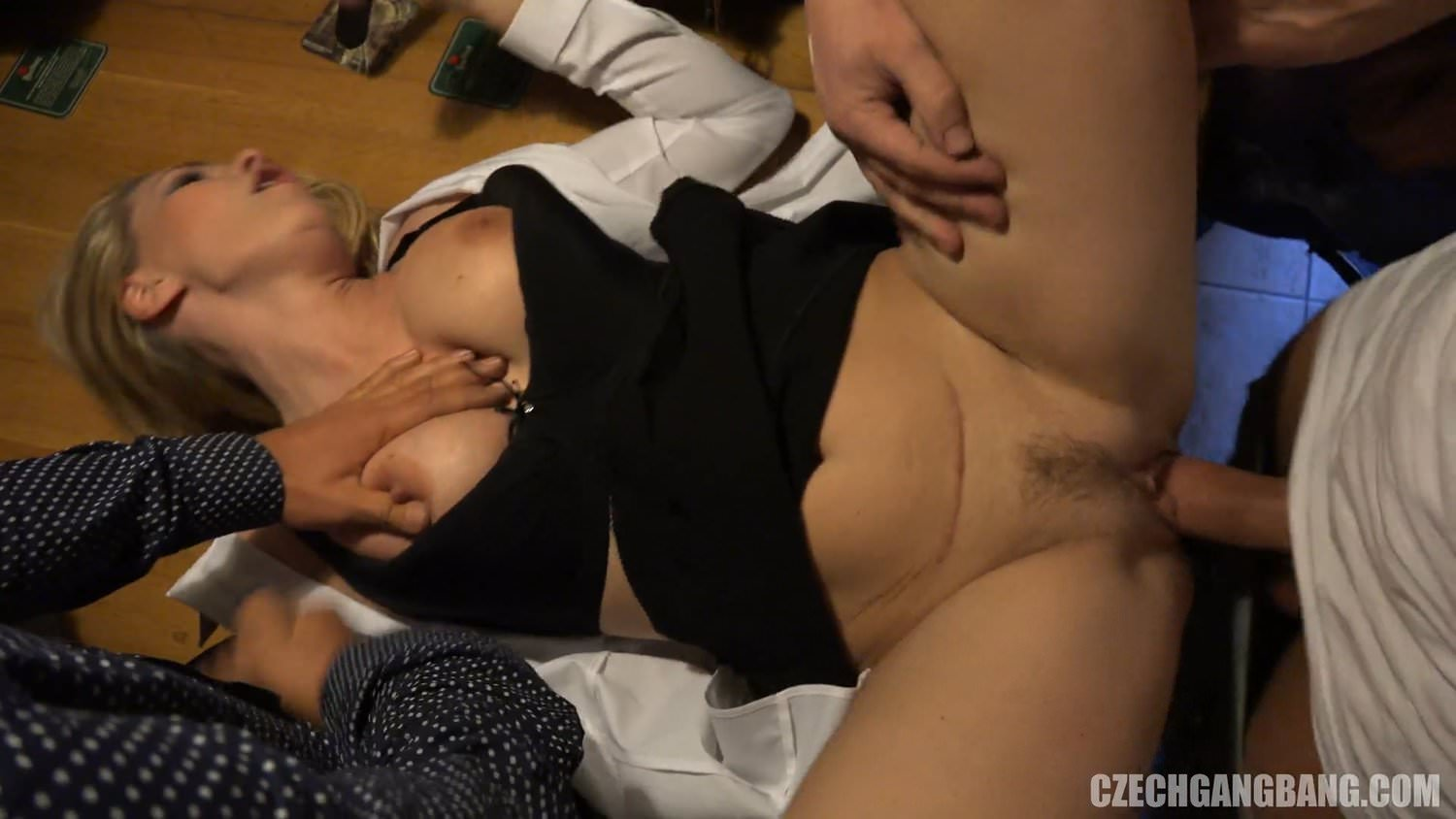 Multiple cumshots on bbw