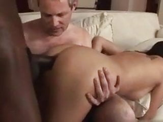 Ass to mouch Black cock from wifes ass to husbands mouth.