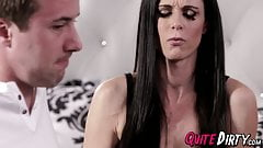 Super hot mom India Summer makes stepson come hard