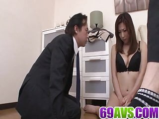 Av large breats tits japanese Av model mirei yokoyama goes nasty on a large dong