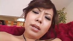 Japanese AV Model gets a big tyo up her wet vagina