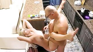 Adult Amateur Couple Making Nipples Hard, Fetish Fuck Action